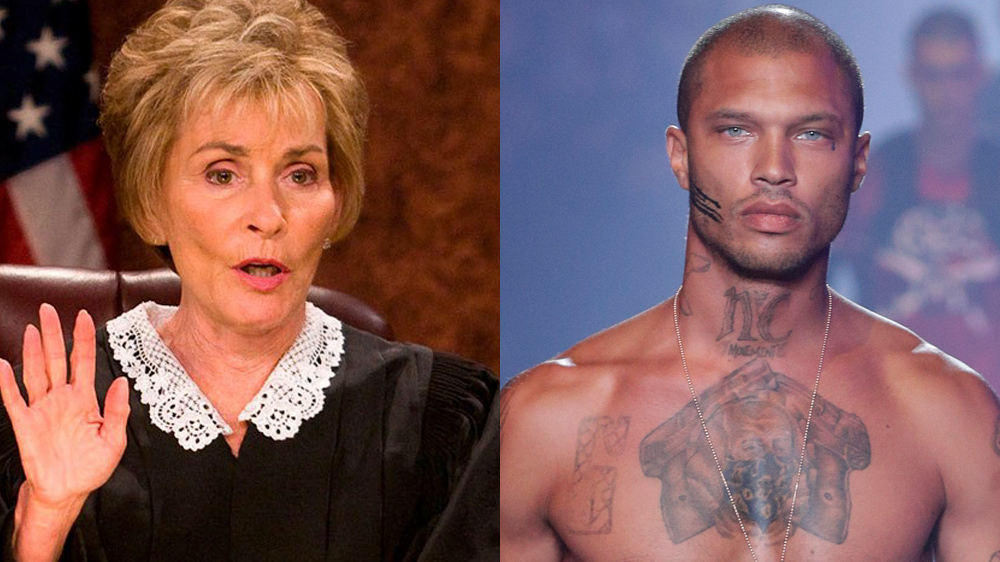 Judge Judy vs Jeremy Meeks